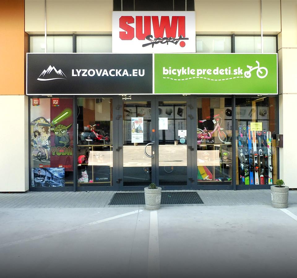 Predajňa SUWISPORT Bratislava